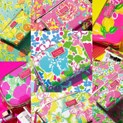 Estee Lauder X Lilly Pulitzer Totes Makeup Cosmetic Bags Gift Sets New Choose