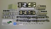 Emblem Kit 37pc W/ Fasteners 69 Camaro Rs 350 In Stock Rally Sport