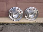 Genuine 1967 14 Chevy Camaro Rs Ss Hubcap Wheel Cover Pair