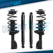 Chevy Equinox Pontiac Torrent Gmc Terrain Struts Spring Shocks For Front And Rear