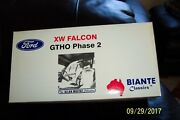 118 Diecast Biante Made By Ut Li 1970 Ford Xw Falcon Gtho Phase 2 Rare And Mib