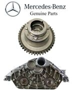 For Mercedes R172 W204 Intake Camshaft Adjuster And Cylinder Head End Cover Oes