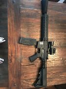 Airsoft Electric M4 Rifle, C02 M1911, Mask, Goggles, Gloves