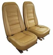 1970 - 1978 Corvette Seat Covers Leather Like In All Original Colors C3 New
