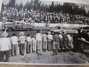 1954 Chevrolet Ford Racing Stock Car Nascar 12 X 18 Large Picture Photo