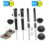 For Bmw E30 3-series Conv Rear Shocks And Front Struts Mounts Caps Kit Bilstein