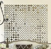 Dazzling 40 Mirrored Wall Art Contemporary Modern Neiman Marcus Metal Square