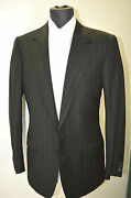 New Brioni Suit 100 Super 150 's Wool 38 Us 48 Eu Made In Italy Bro 7