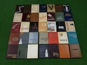 Collection Of Oklahoma State University Osu Aandm Cowboys Yearbooks 1938 To 1972