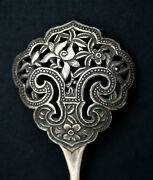 Antique Chinese Silver Hairpin Straits Chinese Peranakan