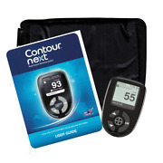 Contour Next Meter With Case - Diabetic Monitor Open Box Item