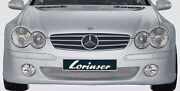 Lorinser Oem Genuine Front Bumper For Mercedes-benz Sl Class R230 2003-2005 New