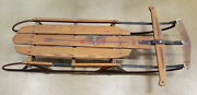 Vintage Flexible Flyer Sled 55h Airline Chief