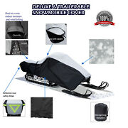 Deluxe Yamaha Rs Venture Gt Tf Trailerable Snowmobile Sled Storage Cover