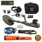 Garrett Atx Extreme Pulse Induction With Pro-pointer At And Waterproof Headphones