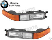 Pair Set Of Front Left And Right Turn/fog Light Assies Oes For Bmw E31 8-series