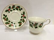 Royal Grafton Noel Breakfast Cup And Saucer Set Best More Available