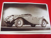 1954 Mg Roadster Tf Or Td Top Down Big 11 X 17 Photo / Picture