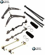 For Bmw E36 M3 Set Of 2 Front Lower Control Arms+tie Rods Assembly W/ Boots Kit