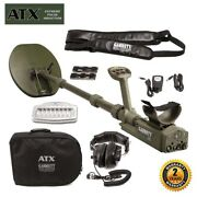 Garrett Atx Pulse Induction Metal Detector With 11x13 Mono Closed Search Coils