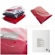 18x 22 Transparent Cellophane Packaging Peelandseal Clear Polythene Packing Bags