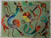 The Important Private Art Of Theodore Luce 1906-1978 Original Abstract And More