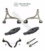 For Mercedes W203 4matic Front And Rear Lower Control Arms W/ Tie Rod Ends Genuine