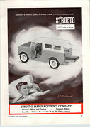 1963 Paper Ad Toy Stucto Jeep Hubley Foot Long Metal Duesenberg Model