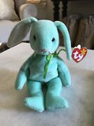 Ty Hippity Beanie Baby Bear Original Collection. Rare With Errors.