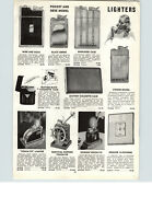 1942 Paper Ad Touch Tip Ronson Lighter Shipsand039 Wheel Nautical Magic