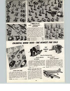 1942 Paper Ad Rubber Toy Soldiers Army Unit Infantry Aviation Defence Daisy Gun