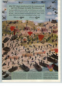 1963 Paper Ad Toy Play Army Troops Soldiers D Day Invation Normandy 350 Pieces