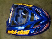 2003 03 Ski Doo Summit 800 Ho 151 Zx Electric Start Blue Hood Front Cover