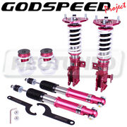 Godspeed Mss0920 Monoss Coilovers Suspension Kit Camber Plate For Scion Tc 11-16