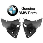 For Bmw E46 323i 325i 330xi Pair Set Of 2 Front Forward Fender Liners Genuine