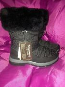 Bearpaw Womenand039s Waterproof Winter Boots Size 7 Brand New Black.andnbsp