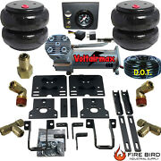 B Air Helper Spring Kit Ford F250 F350 Sd 2005-2010 Srw Only And E Push Button