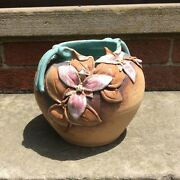 1988 Marty Frolick Old Patagonia Pottery Flower Vase Signed American Pottery
