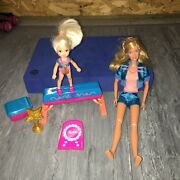 Barbie I Can Be A Gymnastics Coach With Kelly Doll And Equipment 2008