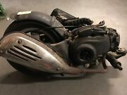 2008 08 Vespa Lx50 Lx 50 Engine Motor Rear Wheel Exhaust Parts Only