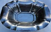 Estate Sterling Reed And Barton Salem X1570/105 Vegetable Tray / Bowl-12 1/2