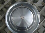 One 1973 73 Cadillac Cady Fleetwood Hubcap Wheel Cover Antique Vintage Classic