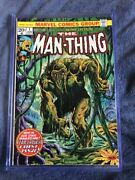 Man Thing 1 First Man Thing Comic Book Siries 1974 And 2nd App Howard The Duckandnbsp