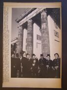 Unification Of Germany Press Wire Photo 1990 West Germany Chimney Sweepers Wine
