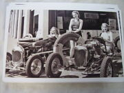 1930 And039s Race Car S With Models 11 X 17 Photo Picture Anyone Id Cars