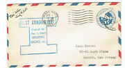 Pioneer Aviator M.d. 'doc' Ator Signed 1929 Cover-interstate Airline Chief Pilot