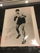 Billy Conn The Pittsburgh Kid Signed Autographed 8x10 Photo Jsa Authentic
