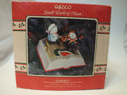 Enesco Small World Of Music Garfield A Dickens Of A Christmas Action Musical
