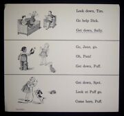 Dick And Jane Integrated Edn African American Now We Read Think-and-do 1965