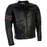 Richa Curtiss Custom/vintage Leather Brown Motorcycle Jacket D30 Armour